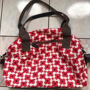 Orla kiely for Target flowers overnight bag